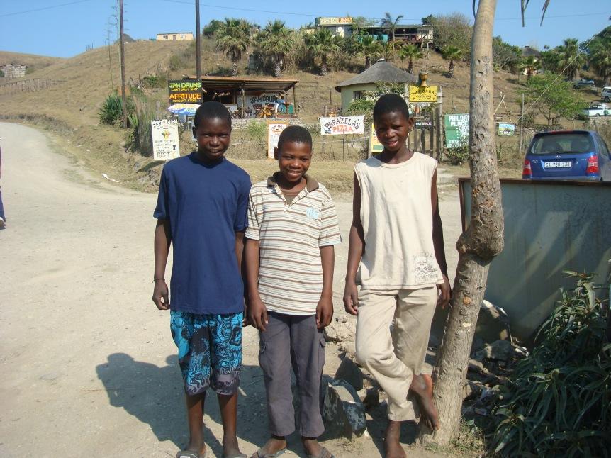 Thobile, Mbulelo and Lukholo Marhenene
